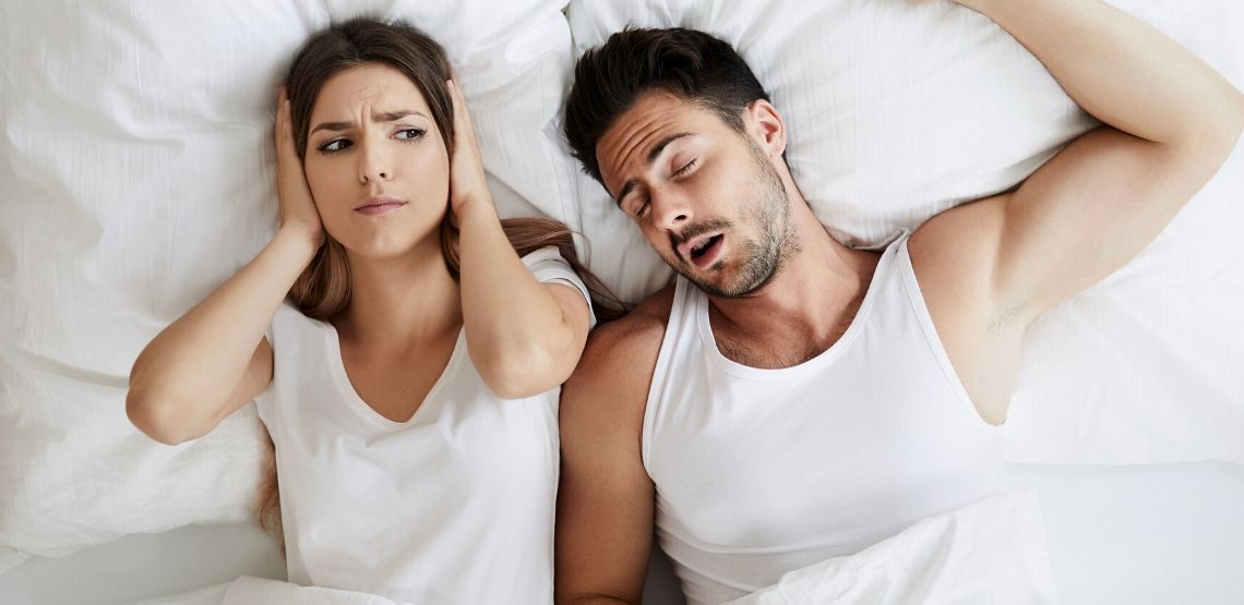 Sleep apnea can affect relationships.