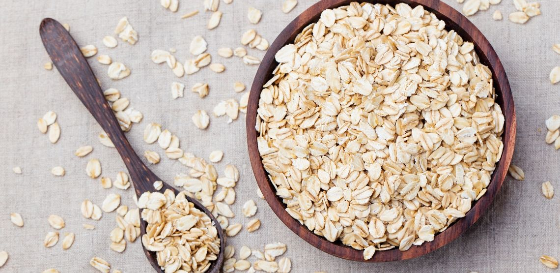 Oatmeal is known to help the burning sensation of heartburn.